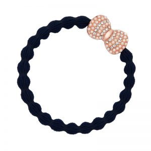 Bling bow Navy Blue ByEloise