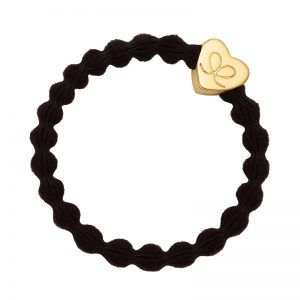 Chocolate Brown Classic Gold Heart byEloise