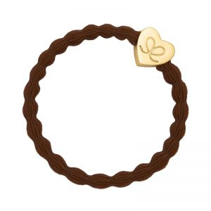Hazel Brown Classic Gold Heart byEloise