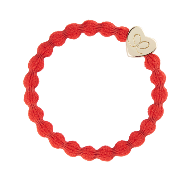 Christmas Red Gold Heart byEloise