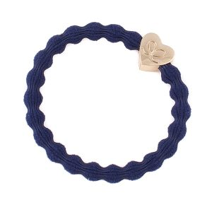Navy Classic Gold Heart byEloise