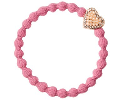 Rose Pink Bling Heart byEloise
