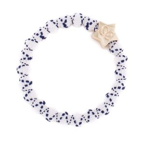 Navy on White Gold Star Sailor Collection byEloise