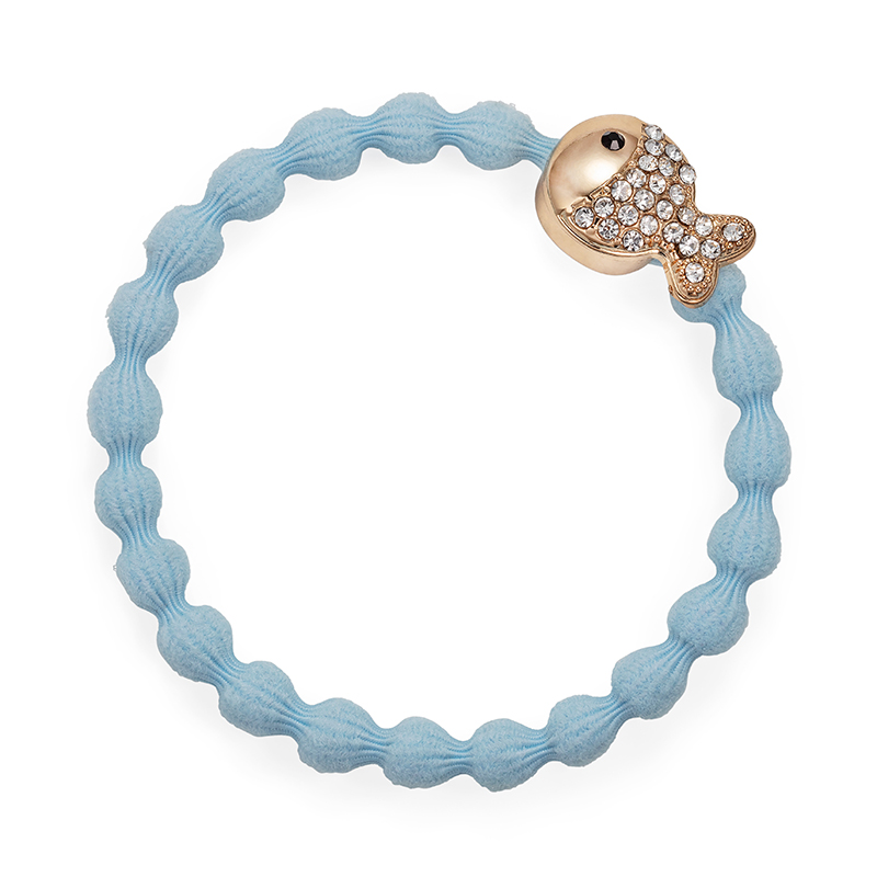Bling Fish sky blue hairband accessory, bangle bands hair accessories from byEloise.