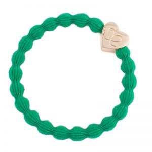 Gold Heart Emerald Green ByEloise