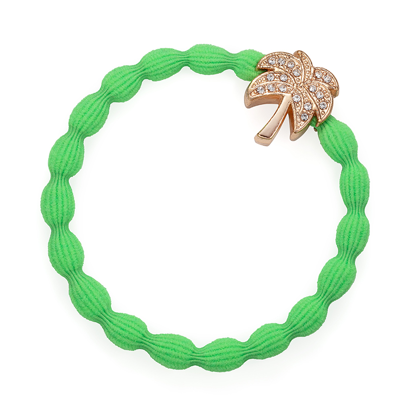 Palm Tree neon green hairband, one of a wide range of fashionable hair bands available at byEloise.