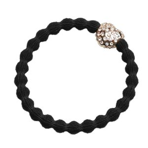 Black Diamante Bubble Heart byEloise