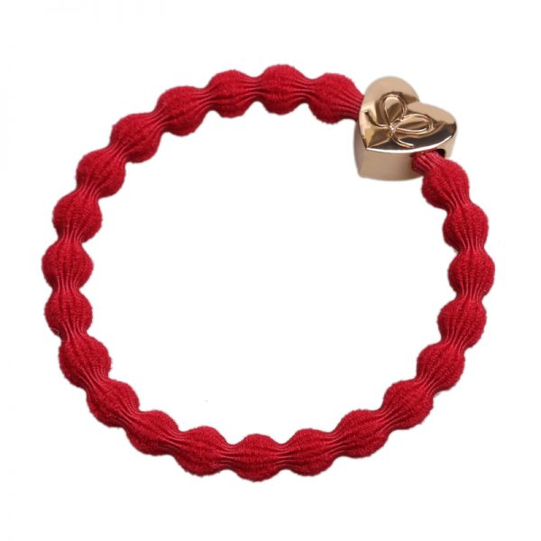 Cherry Red Gold Heart byEloise