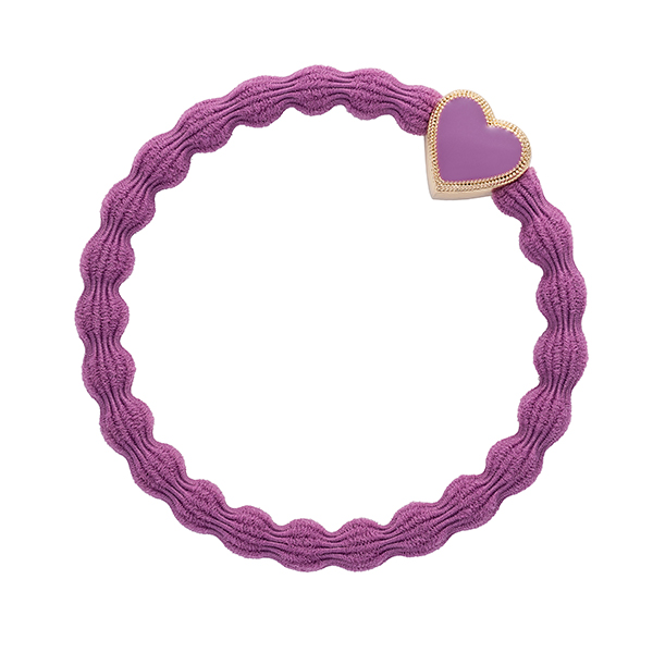 Enamel Gold Heart Mulberry ByEloise
