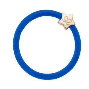 Velvet Gold Star Royal Blue ByEloise