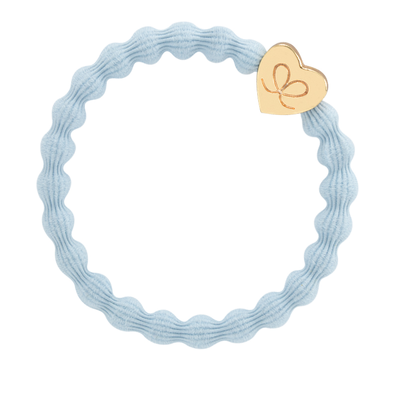 Sky Blue Gold Heart byEloise