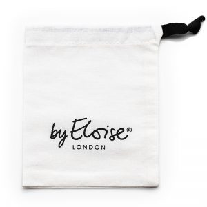 The cotton gift bag, the perfect hair accessories bag, from byEloise London.