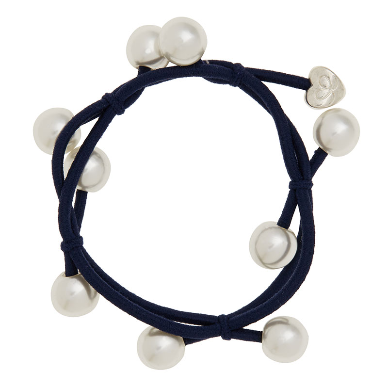 Navy Blue Pearl Cluster ByEloise