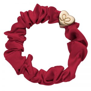 Burgundy Silk Scrunchie ByEloise