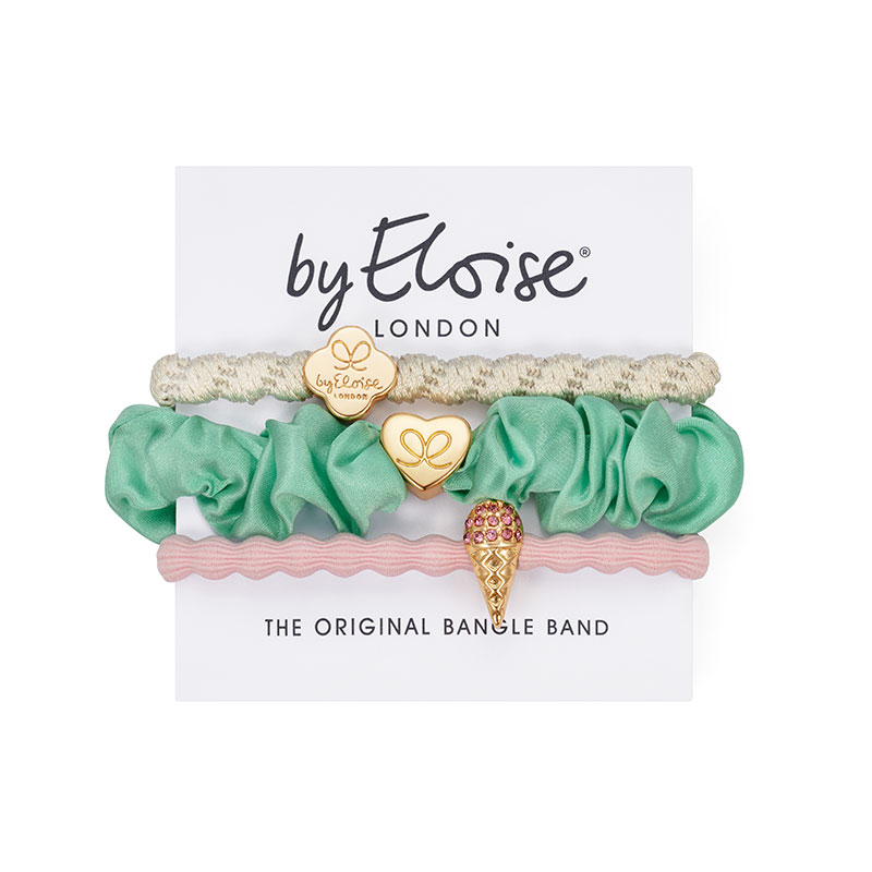 Bangle Bands Summer Sorbet Set, fashionable hair accessories from byEloise London.